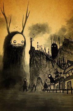 ArtStation - Monster island, Gonzalo Rojas
