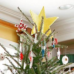 Christmas Tree Toppers from Better Homes and Gardens