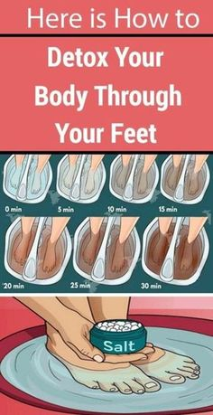 Cleansing your body from accumulated toxins through your feet is an ancient Chinese method, based on the belief that feet contain many energy zones that are connected to your organs.