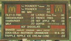 Cuando un Big Mac costaba 65 centavos (1970)