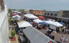 Downtown Seminole is lined with #Oklahoma vendors selling products made in the Sooner State at the Made in Oklahoma #Festival each spring.
