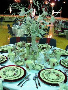 13 Best Festival Of Tables Images Tablescapes Place Settings