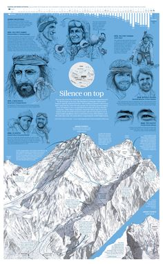 #INFOGRAPHIC. This year the roof of the world had no visitors as Everest remained deserted for the first time in 41 years. The Himalayan earthquake, which struck Nepal on April 25, claimed 8,700 lives. The resulting avalanche to hit Everest Base Camp took the souls of 21 more people, the mountain's greatest tragedy. Here is a look back at some of the climbers, and the routes they took, who made history conquering the world's highest peak. #SCMP