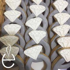 Galletas de Anillo de Compromiso decoradas con Royal Icing #LosEspejos 83367064     Engagement Cookies