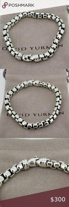 Sterling Silver 7 4.5mm Charm Bracelet With Attached WISCONSIN State Map Outline Word Charm