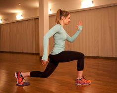 Lower-Body Exercises from US Olympic Ice Hockey Team Forward Hilary Knight | Women's Health Magazine