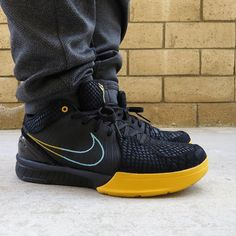 "Get the Nike Kobe 4 Protro ""Black Mamba"" on sale for only $140 (Retail $175) here now!  #KicksLinks #Sneakers #Nike #Kobe #Kobe4 #Deal Nike Sneakers, All Black Sneakers, Black Mamba, Kobe, Kicks, Retail, Shoes, Fashion, Sneakers"