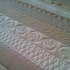 beginners free motion quilting patterns for borders - Google Search