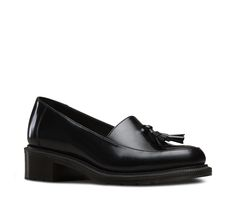 Part of the Refined Adelaide collection, these perfectly comfortable slip ons are a timed update on a stone-cold classic. Crafted from smooth wax polished leather in black and proudly sporting a great pair of tassels, they're a great accompaniment to everything in your wardrobe. The heels are part of the slim air-cushioned sole, made for maximum comfort.