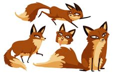 Foxy characters by cachava on DeviantArt