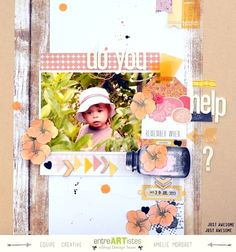 Amelie Mordret - Scrapbooking and Photography: {DT EntreARTistes - Do you need help?}