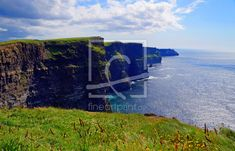 Cliff's of Moher as a canvas print 11900608 Cliffs Of Moher, Fine Art Prints, Canvas Prints, Mountains, Nature, Travel, Rocks, Naturaleza, Viajes