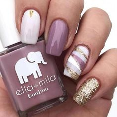 """Dulce Amor """"You're too sweet for words, so I'll just use my pretty hands!"""" BonBon Collection Nail polish bottle ml - fl oz Christmas Nail Art, Holiday Nails, Fun Nails, Pretty Nails, Nail Art Halloween, Nagellack Trends, Nail Polish Bottles, Silver Nails, Nagel Gel"""