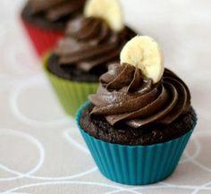 Delicious Banana Chocolate Cupcakes