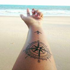21 tatuagens para quem adora viajar