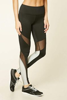 Forever 21 Active Reflective Leggings #ad