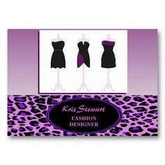 Fashion Designer Business Card by elenaind