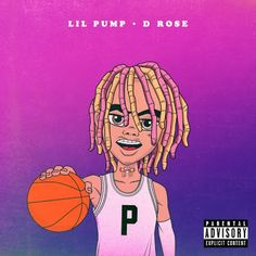 Lil pump D Rose cover
