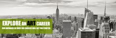 Careers in Art - TheArtCareerProject.com  Great site for art jobs - listings and descriptions as well as schools!