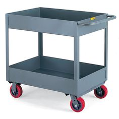 Little Giant Deep-Shelf Stock Trucks - 36'Wx24'D Shelf - 6'D Top Shelf, 6'D Bottom Shelf - 5' Casters *** Check out this great product. (This is an affiliate link and I receive a commission for the sales)