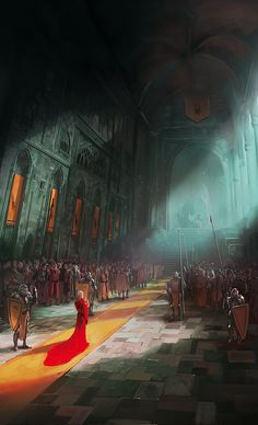 Illustrations made for fantasy books.