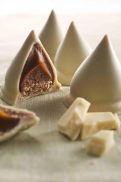 Havannets de chocolate blanco .... deliciosos y tradicionales ... los hay también de chocolate oscuro ...