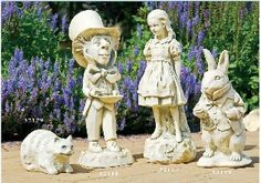 A selection of items for the home and garden from Lewis Carrols timeless creation.