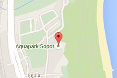 Map of Aquapark Sopot