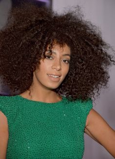 Solange Knowles - Grammys 2013 Hair and Makeup