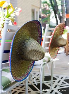 A #cincodemayo party, hosted by Tobi Fairley