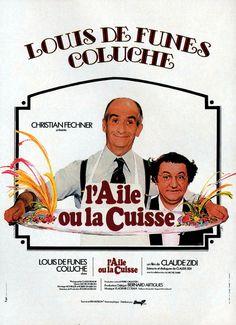 L'aile ou la cuisse # Claude Zidi # Coluche # louis de Funès