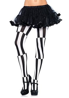 Leg Avenue Women's Optical Illusion Pantyhose, Black/Whit... https://www.amazon.com/dp/B001CVG61S/ref=cm_sw_r_pi_dp_x_vbKZxbFB34GFW
