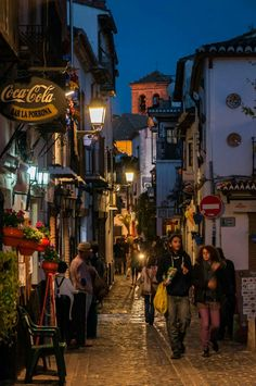 Granada, Lanterns, Lights, Scenery, Grenada