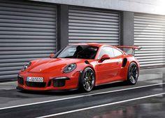 The Porsche 911 is legendary. Porsche has add to the legend with the new the Porsche 911 RS, a barely street-legal sports car. Porsche 911 Gt3, Carros Porsche, Porche 911, Porsche Autos, New Porsche, Porsche Cars, Porsche 2017, Porsche Models, Ford Models