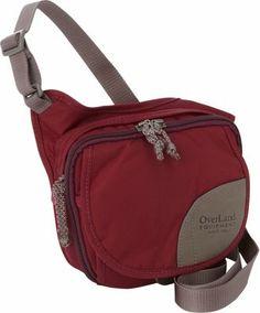 Overland Equipment Bayliss Red Violet/Cross Hatch Print (17-17-T1) - via eBags.com!