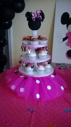 Minnie mouse party by Jessica's Party Planning