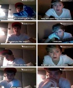 Awe. I'm crying omg their so cute!!!!!! WHAT TWITCAM WAS THIS SOMEONE PLEASE TELL ME
