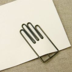 Hand Paperclips #product #design