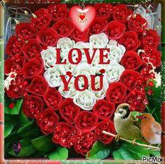 5722910_de7fd.gif (500×497) Summer House Garden, Home And Garden, Christmas Wreaths, Christmas Bulbs, Animated Heart, Love Images, Holiday Decor, Hearts, Christmas Light Bulbs