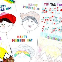@MinisteringPrintables posted to Instagram: 🤠 If you are looking for FUN ways to help your kids enjoy PIONEER DAY, this is the kit for you. 😍This is the Complete Pioneer Day Printable Kit. It's full of happy, bright, entertaining, and decorative printables to make your Pioneer Day fun and memorable. 👏Click the link in bio to get yours! Pioneer Day Games, Christmas Games For Kids, Primary Activities, Family Home Evening, Memory Games, Calling Cards, Matching Games, Great Memories, Easy Gifts