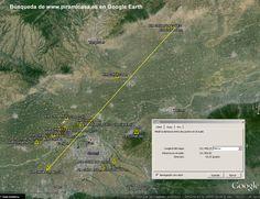 PIRÁMIDES CHINAS. Localización en Google Earth