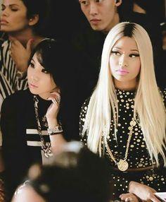 CL and Nicki Minaj