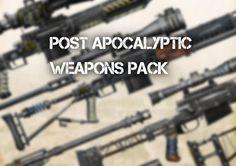 Post apocalyptic weapons Pack, Радимир Гладышев on ArtStation at https://www.artstation.com/artwork/LJKr5