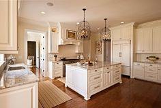 Minwax Provencial stain -- CC - traditional - kitchen - charlotte - Carolina Design Associates, LLC