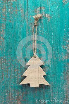 Wood texture/bright turquoise