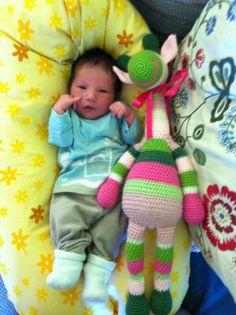 crochet giraffe Giraffe, Dinosaur Stuffed Animal, Toys, Crochet, Animals, Activity Toys, Crocheting, Animales, Animaux
