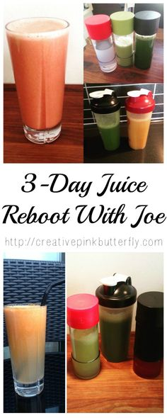 Three-Day Juice Detox Plan | Creative Pink Butterfly