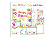 FREE Mother's Day or Garden Party Printables