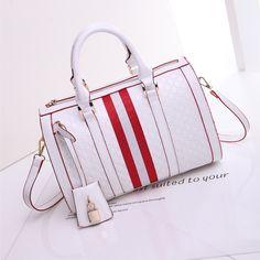New Single Shoulder Bag Europe and American Bucket Laptop Handbags Color Big Tide Female Bag of England