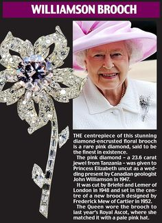 'Finest pink diamond in existence' to be highlight of dazzling display of Royal jewels at Buckingham Palace British Crown Jewels, Royal Crown Jewels, Royal Crowns, Royal Tiaras, Royal Jewelry, Tiaras And Crowns, Elizabeth Ii, Princess Elizabeth, Prinz Philip